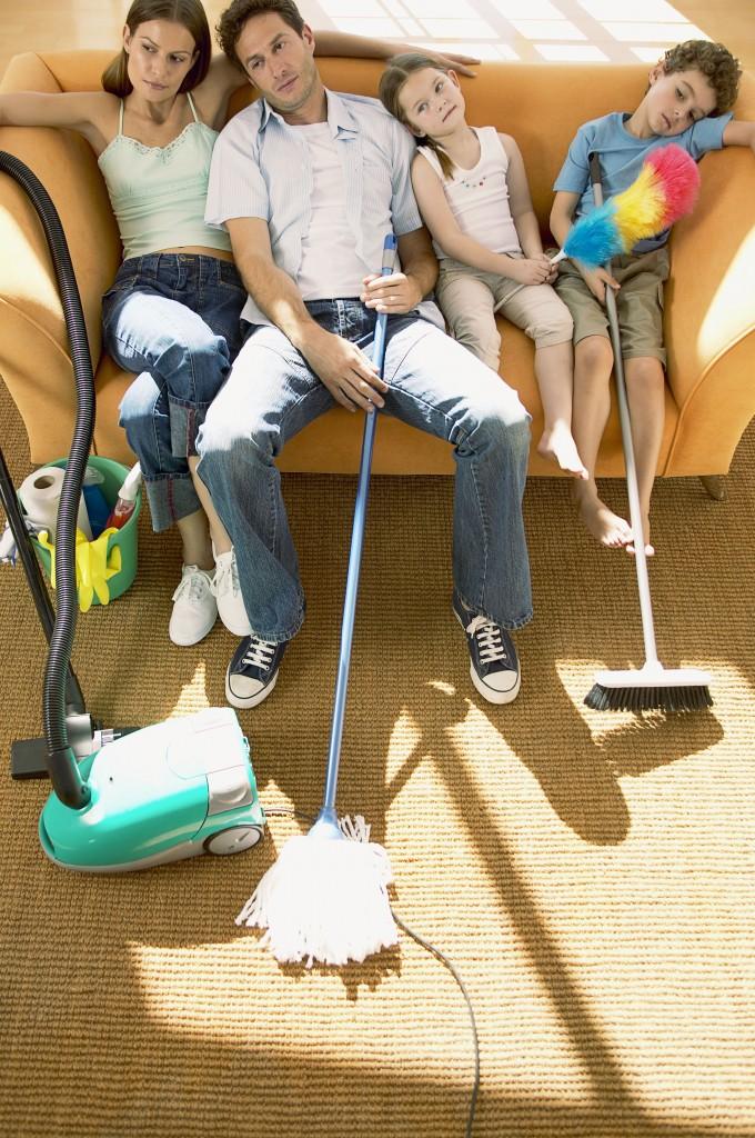 Уборка своей квартиры своими руками